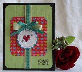 homemade valentine ideas heart with arrow